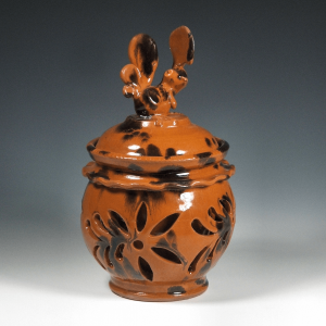 Double Walled Tobacco Jar