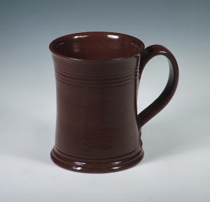 Straight Sided Mug, Brownware