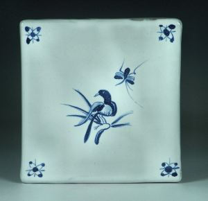 Tile, Delft, Bird and Bug