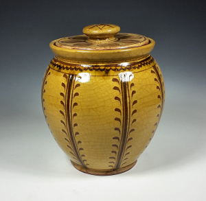 Oval Jar, Vine