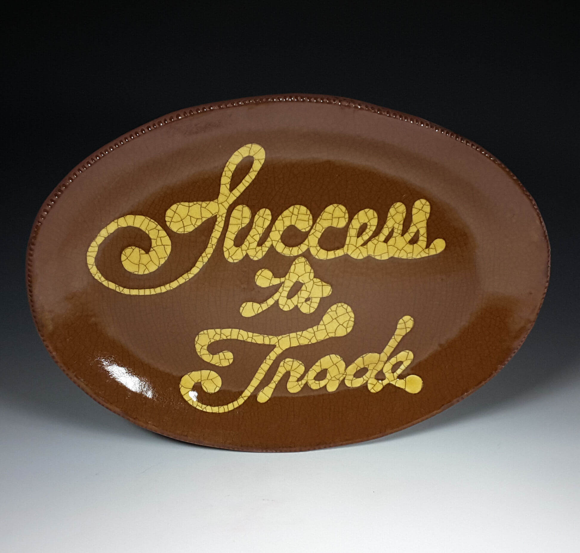 Oval Plate, Success