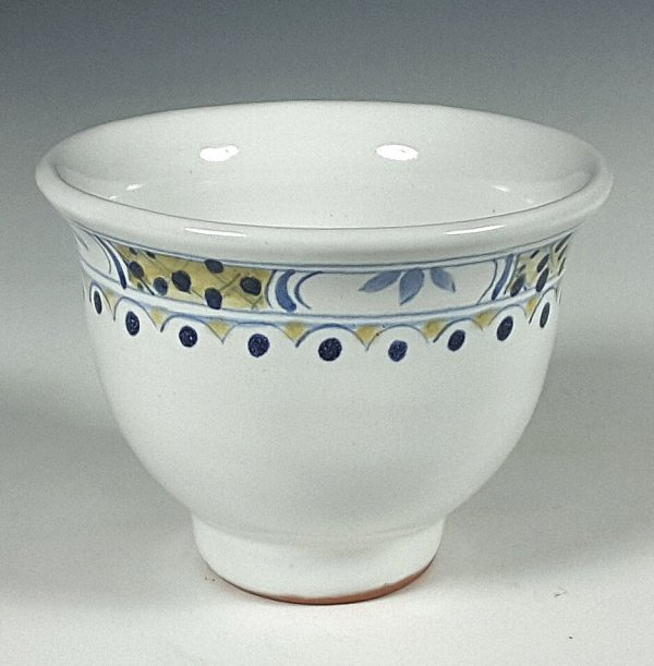 Wine cup, Polychrome Banded