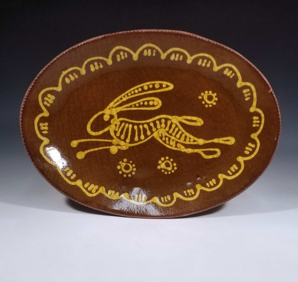 Oval Plate, March Hare