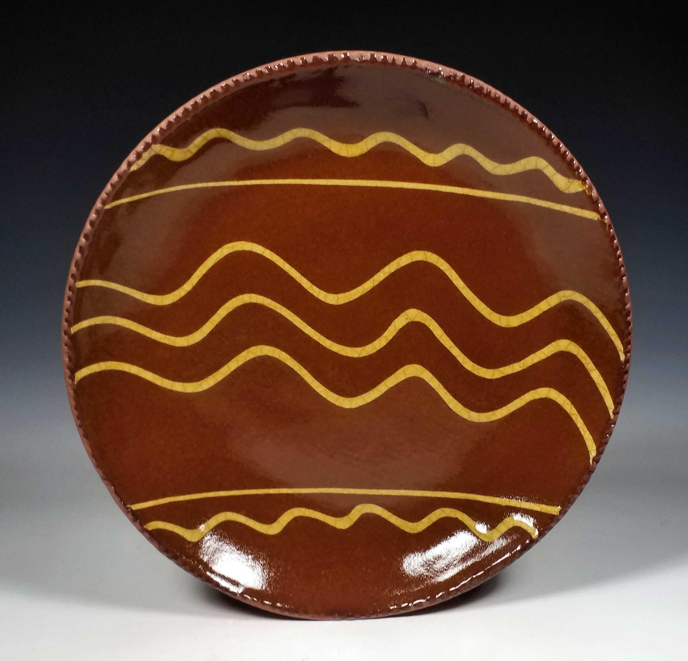 Round Plate, 3 Between 1