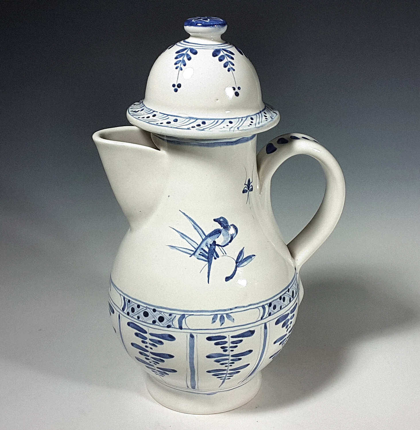 Spouted Ewer, Bird and Bug