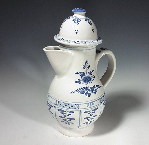 Spouted Ewer, Floral