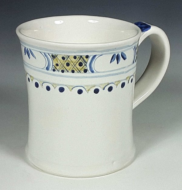 Tankard, Polychroome, Banded
