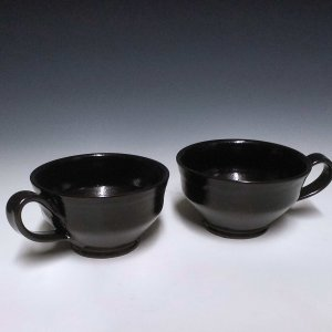 Porringer, Black