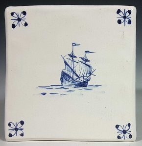 Square Rigged Ship Tile