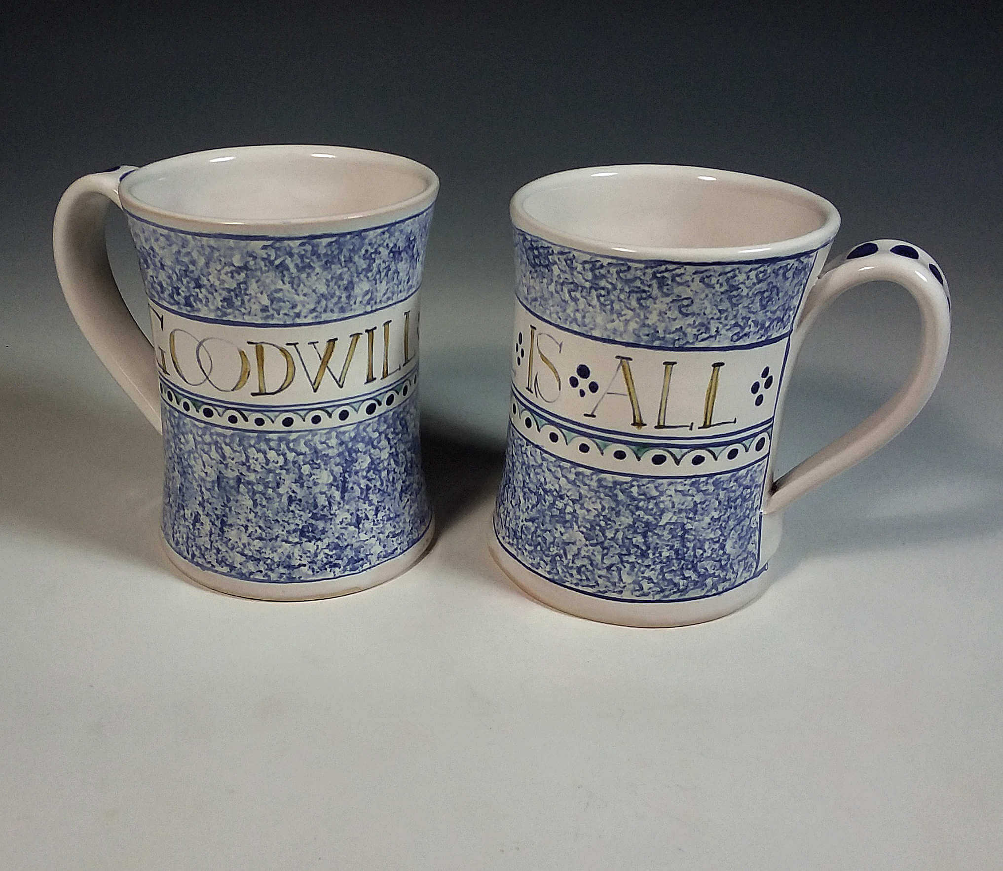 Goodwill Tankards