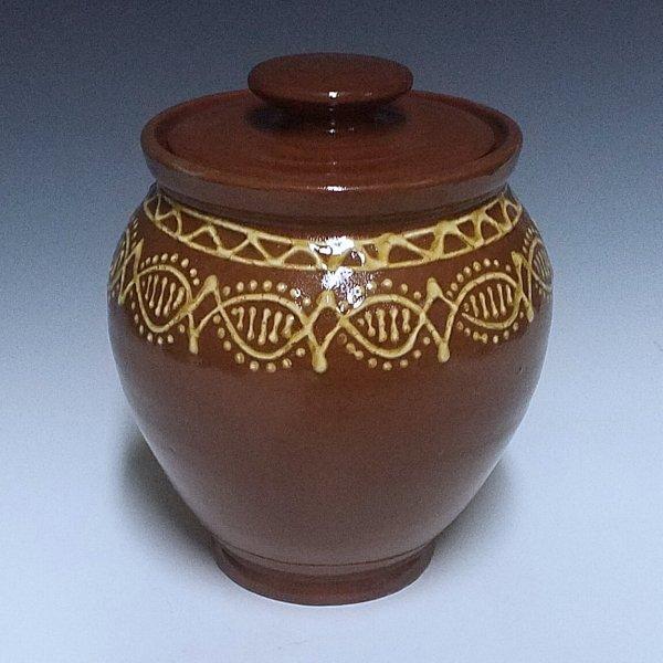 Oval Jar, Banded