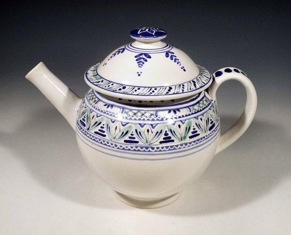 Teapot straight spout