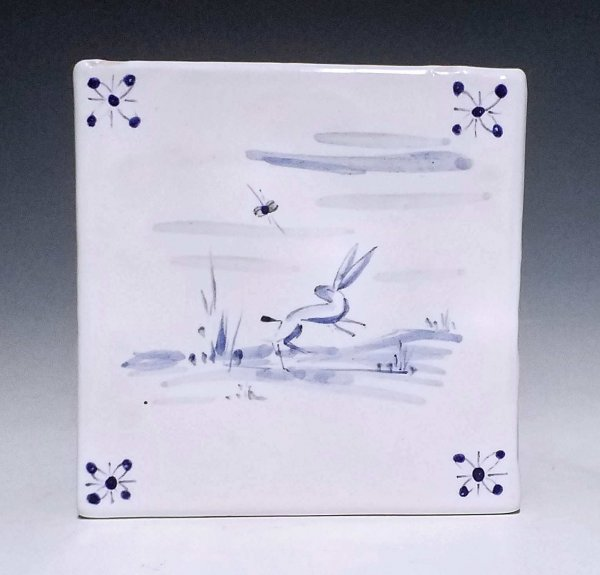 Tile, Leaping Hare