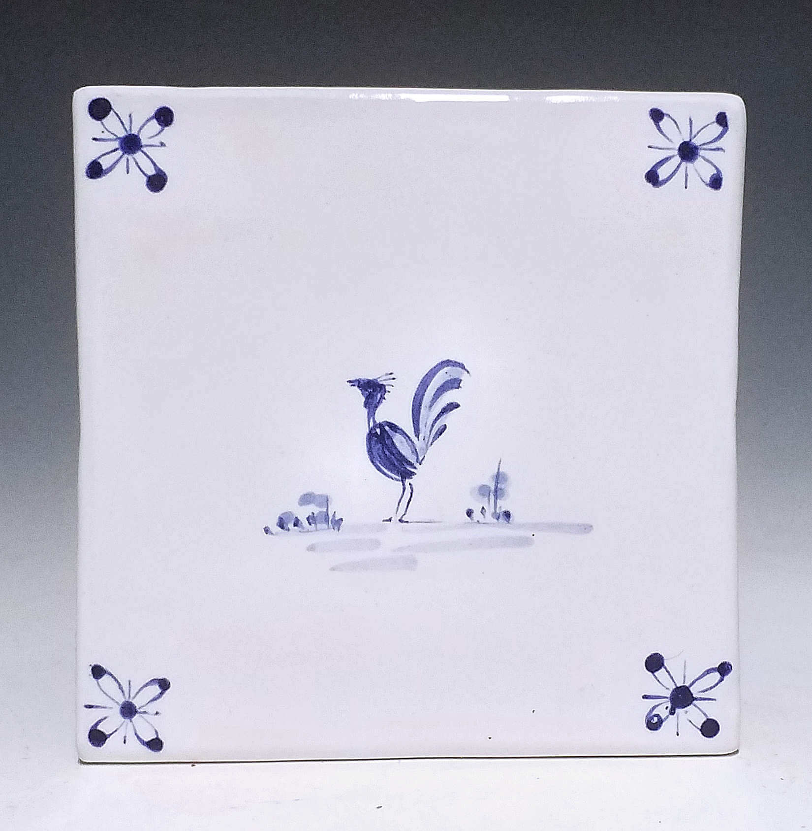 Tile, Blue Hen