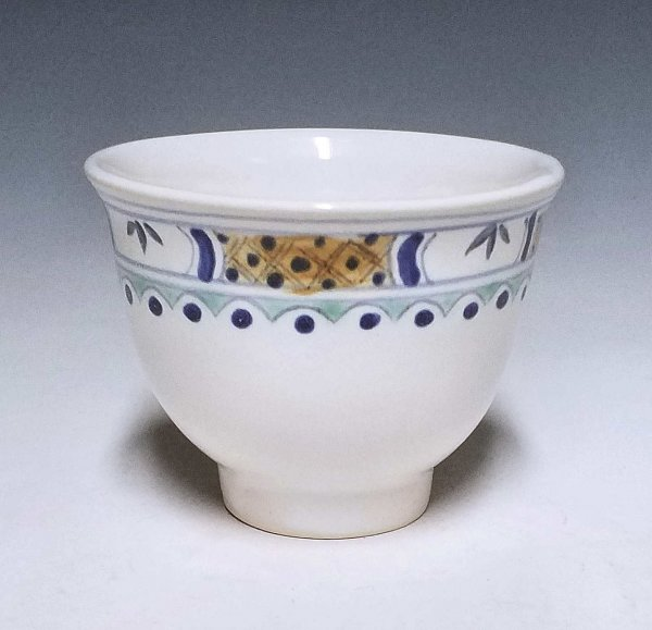 Wine cup, Banded