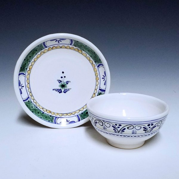 Cup and Saucer, Sprouted band