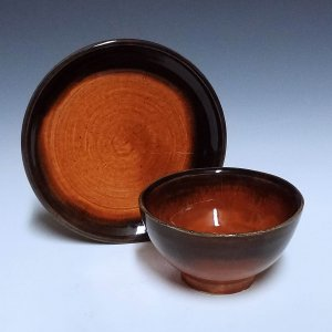 Cup and Saucer, Two Tone