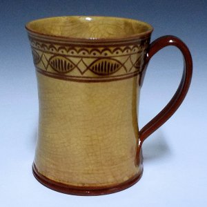 Plain Mug, Sgraffito, Loop