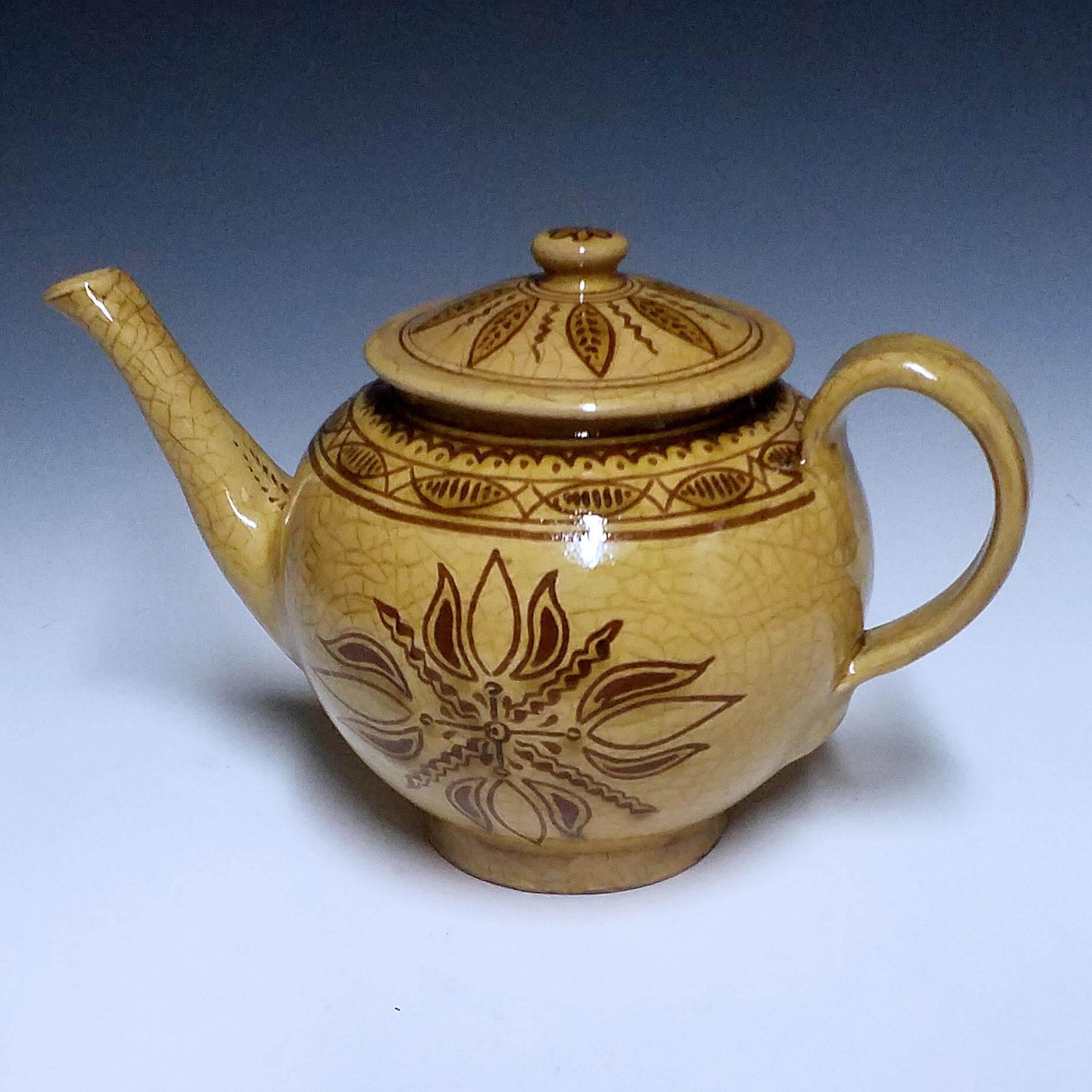 Teapot, 4 Tulip