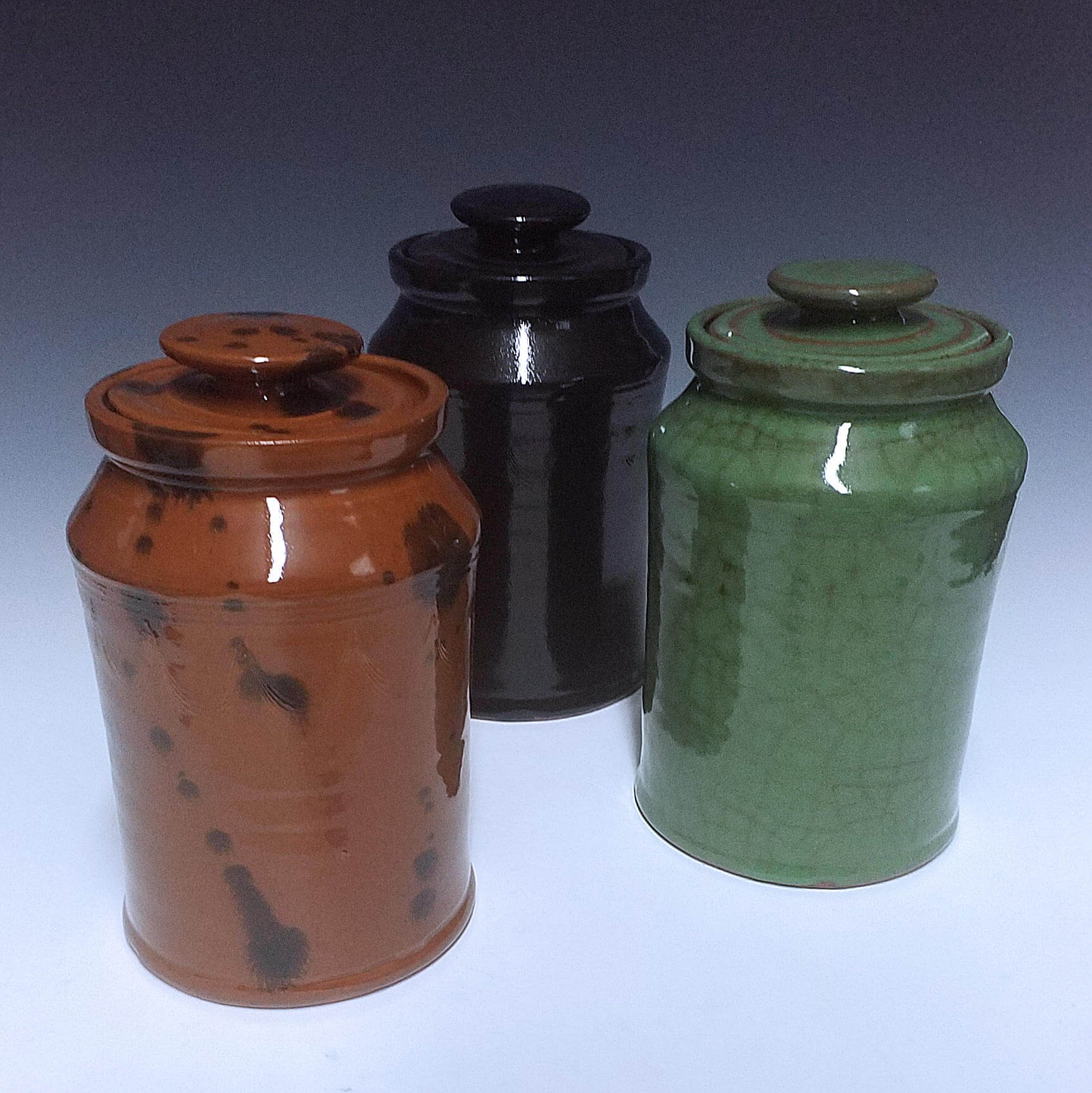 Canisters, Redware