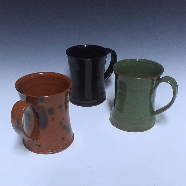 Mugs, Redware