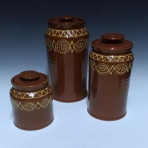 Canisters, banded