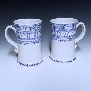 Tankards, Large, Merry Wise